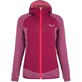 SALEWA Rolle Polarlite Responsive Jacket Women, rood